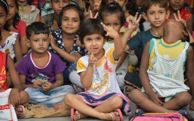 V- Care – An Education hand to the remote areas of Jhangirpuri, Delhi