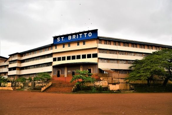 St. Britto High School embraces solar power