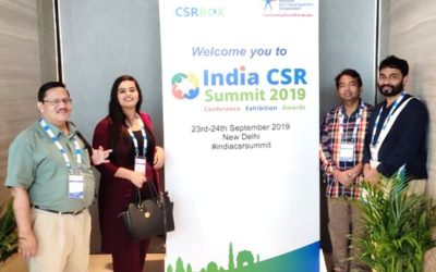 JCI's participation at 6th CSR Summit 2019, New Delhi