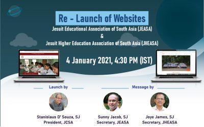 Re-launch of websites