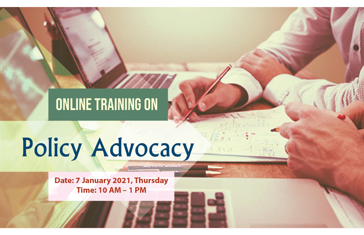 Training Session on Policy Advocacy