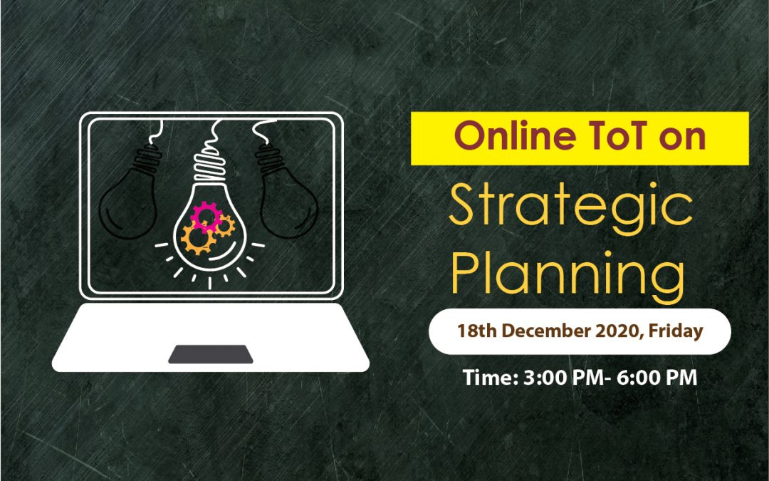 Training Session on Online Strategic Planning