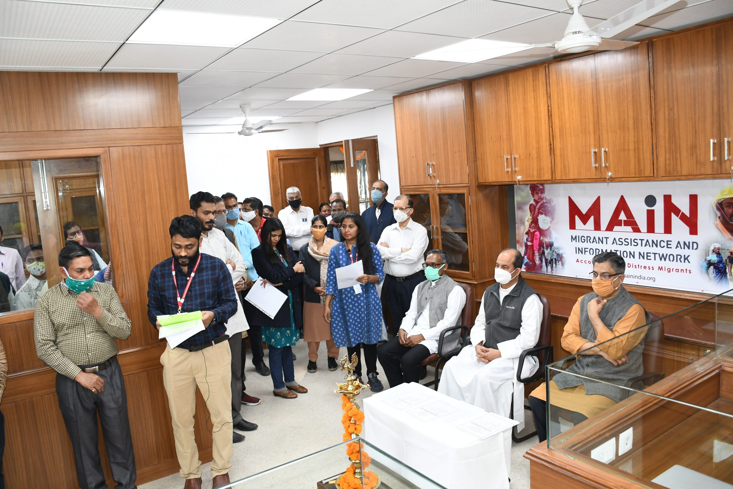 MAIN – CENTRAL HUB OFFICE INAUGURATION